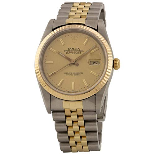 Rolex Datejust Automatic Male Watch 16233 (Certified Pre-Owned)