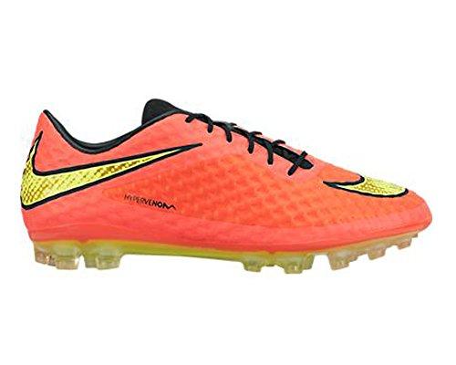 Nike Hypervenom Phelon FG Fussballschuhe bright crimson-volt-hyper punch-black - 43