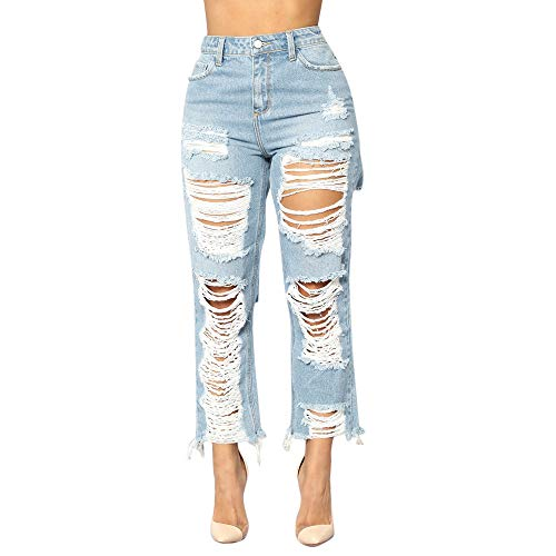 ZEFOTIM Clearance Fashion Women Jeans Denim Hole Female for sale  Delivered anywhere in USA