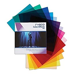 Rosco Color Effects Filter Kit, 12 x 12\