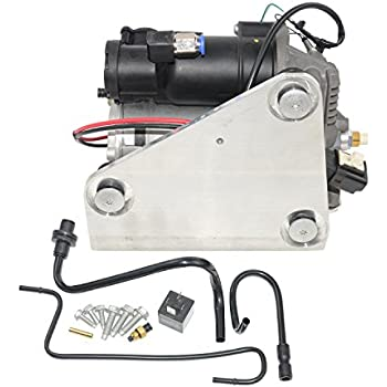 Air Suspension Compressor Pump & Relay LR015303,LR023964 For Land Range Rover Sport LR3 LR4