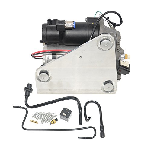 Air Suspension Compressor Pump & Relay LR015303,LR023964 For Land Range Rover Sport LR3 LR4 For AMK Style