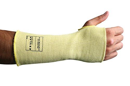(Superior KKWC10TH Kevlar Double Folded Knit Stockinette Sleeve with Thumb Hole, 10