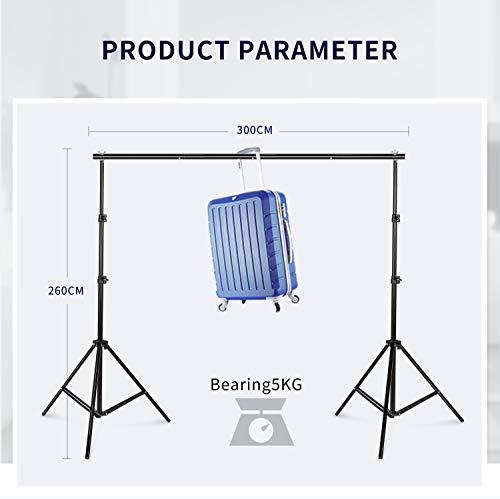 Photo Studio Double Off Camera Speedlight Flash Umbrella Kit, Photography Tripod Brackets for Photography Photo Video Studio Lighting Flash Translucent White Soft Umbrella by YC° (Image #4)