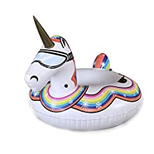 Winter Unicorn Inflatable Snow Tube-The Playful Heavy Duty Snow Sled