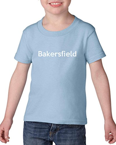 Ugo Bakersfield CA California Map Flag Home of University of Los Angeles UCLA USC CSLA Heavy Cotton Toddler Kids T-Shirt - Stores Bakersfield Ca