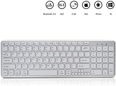 ZFLIN Mobile Phone Tablet MAC Notebook Desktop Office Multi-Screen Universal Keyboard