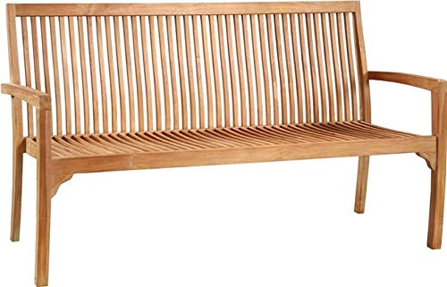 Dovetail Furniture Bench DOVETAIL Solid Premium Teak New Outdoor