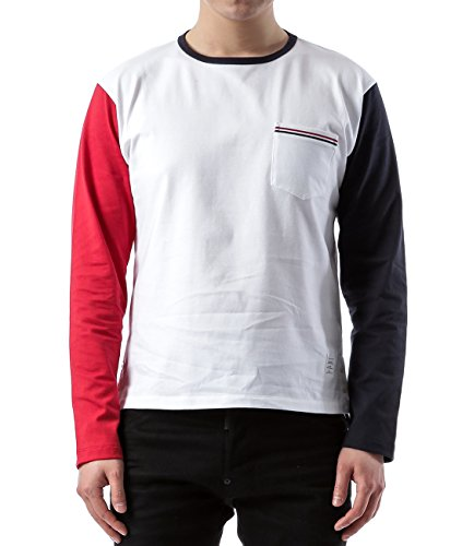 wiberlux-thom-browne-mens-contrast-sleeve-chest-pocket-top-4-white