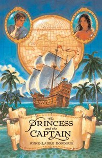 book cover of The Princess and the Captain
