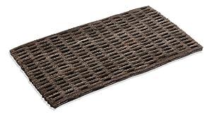 Amazon Com Fluffed Tire Link Mat 24 Quot X 36 Quot Doormats