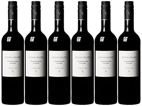 Weingut Heinrich Vollmer Dornfelder feinherb  2014 / Weingut Heinrich Vollmer Dornfelder feinherb  2015 ( 6 x 0.75 l)