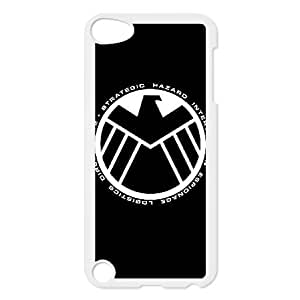 iPod Touch 5 phone case White The Avengers Logo KKUP1755166
