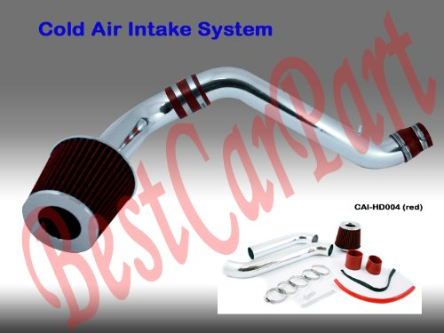 1997 1998 1999 2000 2001 Honda Prelude Cold Air Intake Red (Included Air Filter) #Cai-hd004r by High performance parts