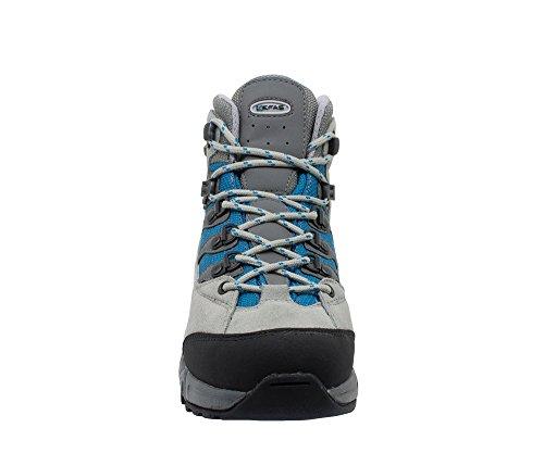 Damen Wanderstiefel blau Kefas Grau Trekking amp; Blau OwqdxAtRd