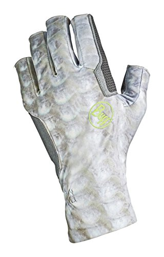 Buff Unisex Elite Gloves, Bonefish, (Elite Stretch Hat)