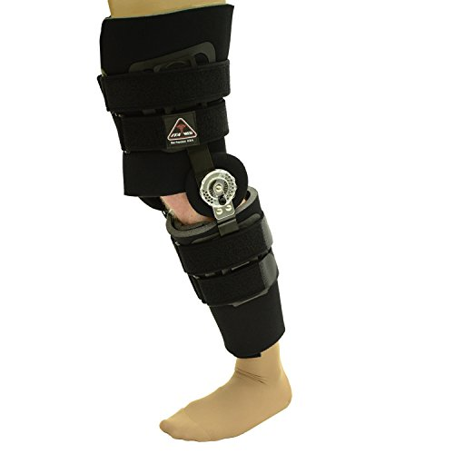 ITA-MED ROM Post Op Knee Brace for Stability and Recovery (Height-27