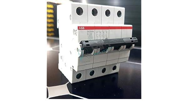Interruptor autom/ático sh204-c32 4 polos 32a curva c 6ka Abb-entrelec sh200