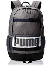 بوما حقيبة ظهر كاجوال يومية للجنسين ، بوليستر ، رمادي