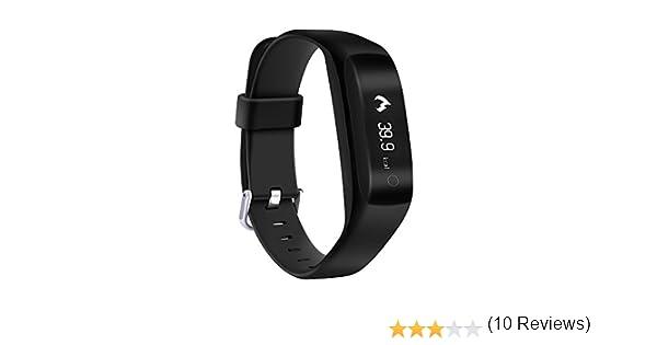 Yuntab SmartBand C5-Smart Bracelet (Ip65 Waterproof, 24-h Health ...