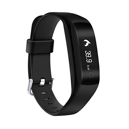 Yuntab Smartband Bluetooth Waterproof C5 Black
