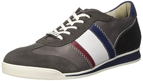 Lloyd Herren Aaron Sneaker Grau (fumo / Graniet / Chianti / Bianco / Royal / Grijs)