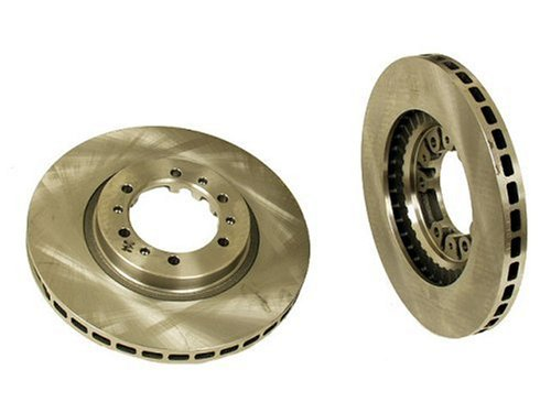 Brembo Sport Slotted Rotors (Brembo 25558 Front Disc Brake Rotor)