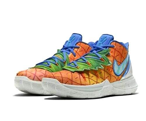 Nike Kyrie 5 Spongebob Pineapple (GS) 5Y Orange Peel/Teal Tint