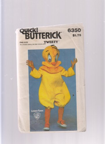 Warner Bros. Tweety Child Adult Costume Halloween Sewing