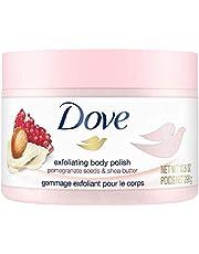 Dove Exfoliating Body Polish Body Scrub, Pomegranate & Shea 298 g