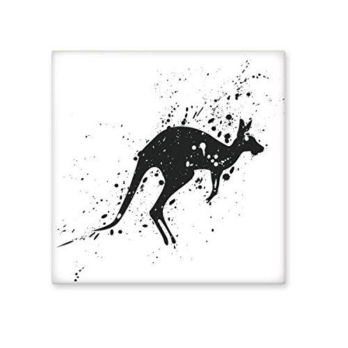 85%OFF Australia Koala Kangaroo Silhouette Illustration Ceramic Bisque Tiles for Decorating Bathroom Decor Kitchen Ceramic Tiles Wall Tiles