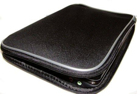 DURAGADGET 10/11 inch Black Water Resistant Laptop/Notebook/Netbook/UMPC Carry case/Bag/Sleeve for ASUS EeePC 1000HE 10 INCH Intel Atom N280 Netbook 1GB 160GB HDD 9.5hr