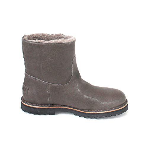 nappa Shabbies Leather Women's grey Shs0290 Boots Slouch Grau ZYwZ0px