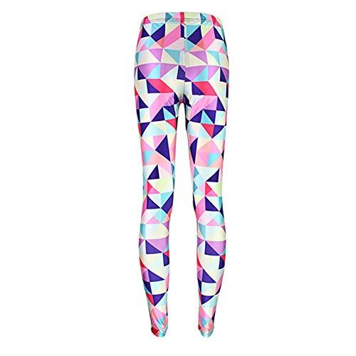 Multicolores Leggings 04 De Abchic Mujer wnvqtYFF