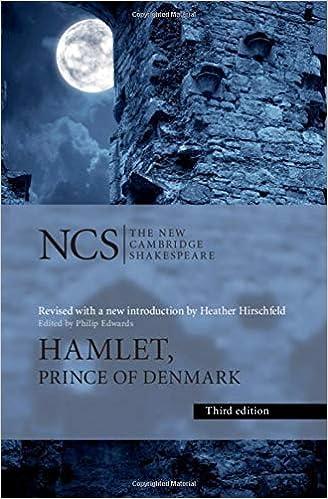 hamlet new cambridge  : Hamlet: Prince of Denmark (The New Cambridge Shakespeare ...