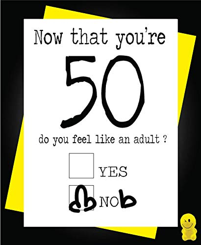 Funny Now That You're 50 Birthday Card