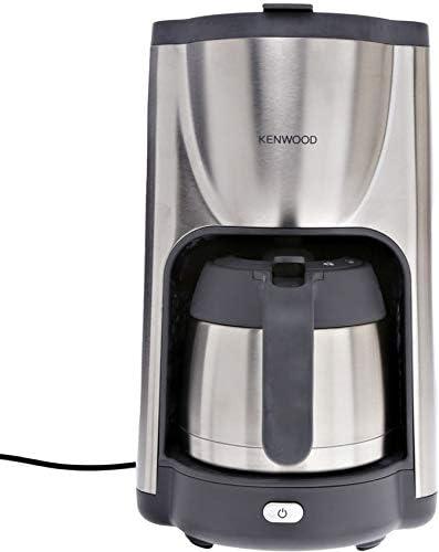 Kenwood CMM 490 - Cafetera (12 Tazas, 1100 W), Color Plateado/Gris: Amazon.es: Electrónica