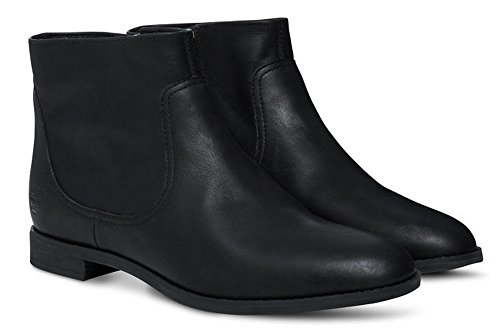 Timberland Preble Ankle Boot Jet Black CA15QS, Boots