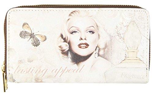 Clayre & Eef FAP0095-12 borsa portafoglio Case Custodia Portafoglio donna ca, 20 x 11 cm