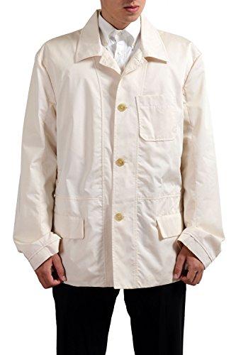 gianfranco-ferre-ivory-button-down-mens-basic-jacket-us-4xl-it-60