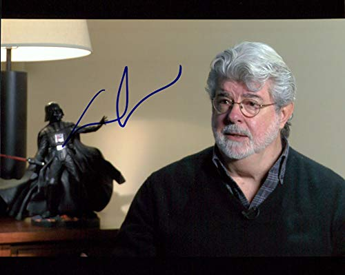 George Lucas (Star Wars) signed 8x10 photo