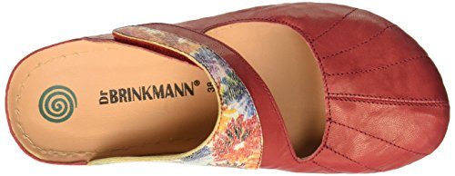 Dr. Brinkmann 700875 - Mules Mujer Rojo - Rot (rot/bunt)