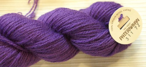 Paternayan Needlepoint 3 Ply Wool Yarn Color 311 Grape Package Is Either 12 Cut Skeins  Or 1 Full Hank   Cut Skeins Are Equivilent To Hank