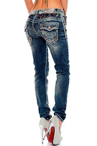 Cipoamp; Baxx Baxx JeansFemme JeansFemme Cipoamp; Bleu tCosxrdBhQ
