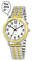 2nd Generation Talking Watch - Dual-Tone Alarm Day-Date Women Watch (ATK358L02)(M106)