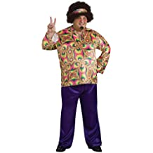 Rubie's Costume Co. Men's Plus Size Purple Daze Costume