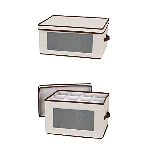 (Household Essentials 540 Vision Storage Box with Lid and Handles 542 Vision Storage Box with Lid and Handles)