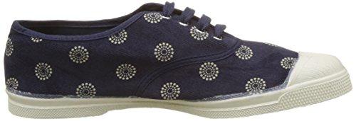 Bensimon marine Mujer Para Tennis Zapatillas Azul Corduroy aqZxrwa