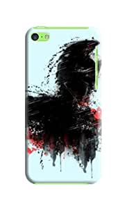 Premium Textures Designed Phone Protection Cover/shell/case for Iphone 5c with Landscape