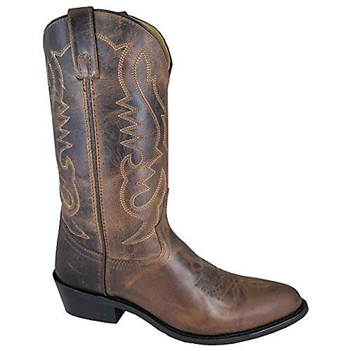 Smoky Mountain Boots Mens Denver Brown Leather Basic